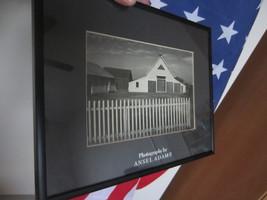 Ansel Adams / Cape Cod Barn Massachusetts / Photo / Framed / No signed /. - $39.99