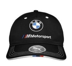 PUMA BMW M BB Motorsport Logo Strap Back Cap Black Baseball Hat 022536 01 image 2