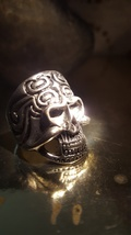 HAUNTED Djinn ring of the sun, Aztec spirit of Dragon MAGICK, haunted ri... - $433.97