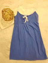 Ann Taylor Loft Womens Sundress Blue Beach Swim... - $14.52