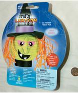 New WT HALLOWEEN Crafty Witch Sorciere Paper Lantern Kit 2008 Westrim Cr... - $12.85