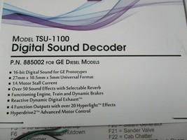 Soundtraxx 885002 Tsunami 2 TSU-1100 Digital Sound Decoder GE Diesel Models image 2