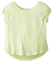 Splendid Girl's Slub Knit Top, DGA01191X, Green Lime, Size 4/5, MSRP $38 - $18.80