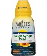 Zarbee's Naturals Cough Syrup + Mucus Nighttime with Melatonin, Honey L... - $6.76