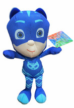 "Disney Pj Masks Cat Boy 12"" Plush Doll Official Just Play Stuffed Toy Ca... - $10.88"
