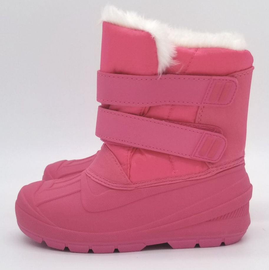 Cat & Jack Toddler Girls Fuchsia Pink Lev Faux Fur Insulted Winter Snow Boots
