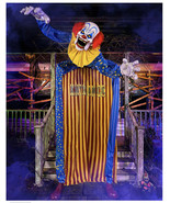 Halloween prop decor 10 Ft. Looming Clown Animatronic (sh) O12 - $989.99