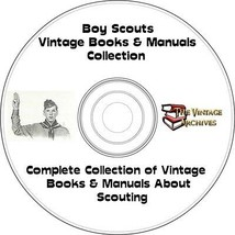 Boy Scouts Vintage Books & Manuals Collection on CD - Boy Scouts, Camping - $6.30