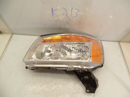 Oem Headlight Head Light Nissan Titan 15 14 13 12 11 10 09 08 Lh Crack Housing - $84.15