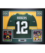 Aaron Rodgers Autographed Jersey Framed Authentic $795 - $795.00