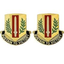 Genuine U.S Army Crest: First Sustainment Brigade - Sustain To Victory - $18.79