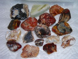 Agate & Jasper Lot From The Western United States - $8.99