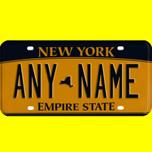 1/43-1/5 scale custom license plate set any brand RC/model car - New Yor... - $11.00