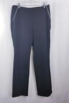 Inc Womens Casual Dress Pant Black  Straight   Leg Sz 12 - $14.96