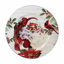 Darice Christmas Charger Plate: Santa, 13 inches w - $7.99