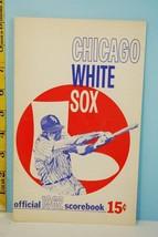 1962 Chicago White Sox Baseball Program Scored v Baltimore Orioles Ex - $21.78