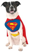 Rubies Costume DC Heroes and Villains Collection Pet Costume Blue/Red X-... - $19.85