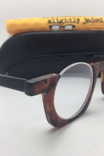 24149b44055e Readers EYE•BOBS Eyeglasses OY! 2287 19 +1.50 Tortoise   Black Half Rim