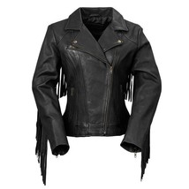 whetblu Women's Motorcycle Leather Jacket WBL1503 | Daisy, 3 COLORS - $267.29+