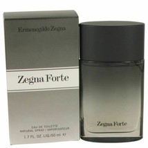 Zegna Forte by Ermenegildo Zegna Eau De Toilette Spray 1.7 oz for Men - $26.16