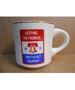 1975 KEEPING THE PROMISE NORTHEAST REGION ROUNDUP CERAMIC MUG B.S.A. NEW... - $14.95