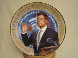 THE TORCH IS PASSED JFK Collector Plate PRESIDENT JOHN F KENNEDY Max Gin... - $29.99