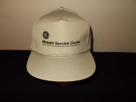 VTG-1990s GE General Electric Mesabi Service Center rope snapback hat sku17 - $27.83