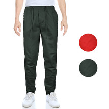 OTB Men's Banded Athletic Work Out Gym Stretch Jogger Sweat Pants