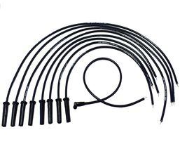 9.5mm Black Silicone High Performance Spark Plug Wire Set Universal Fit V8 V6 image 3