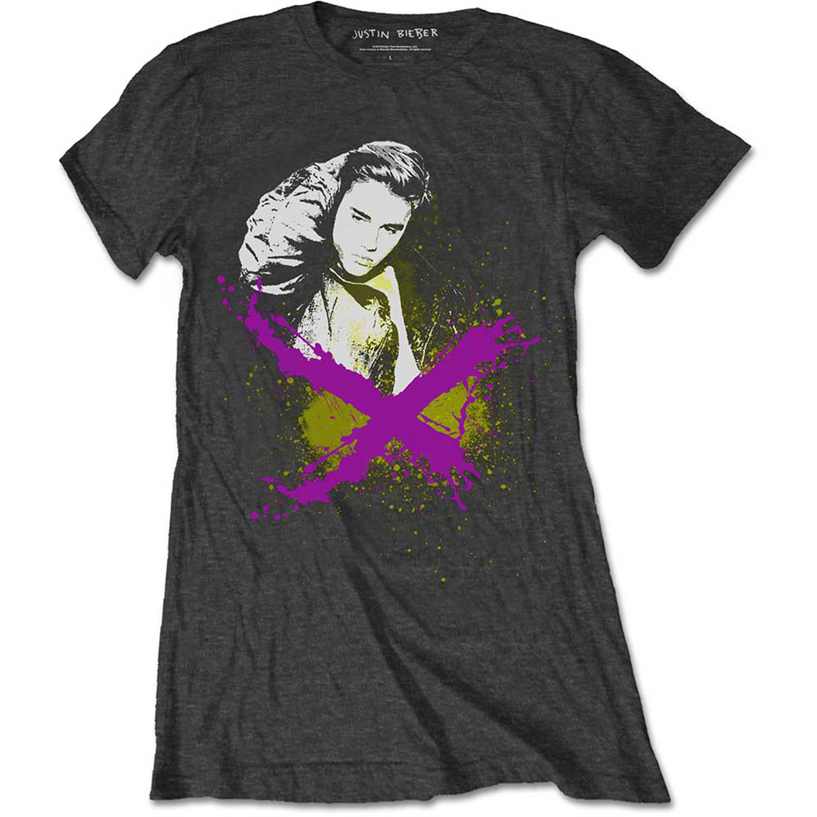 Primary image for Ladies Justin Bieber X Rock Purpose Official Tee T-Shirt Womens Girls