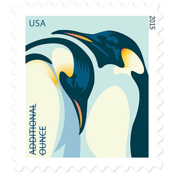 2015 22c Emperor Penguins Scott 4989 Mint F/VF NH