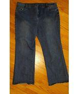 Womens AvenueDenim Bootcut Size 22A Jeans Blue rinse EUC - $9.85