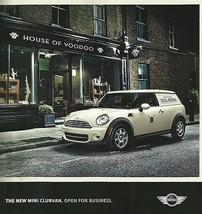 2013 Mini COOPER CLUBVAN Clubman Panel van sales brochure folder 13 US HTF - $10.00
