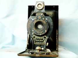 Kodak No.2 Folding Film Pack Hawk-Eye -RARE- Vintage Camera - Nice- Collectors - $70.00