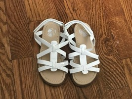 Toddler Girl's Children's Place White Sandals Size 10 - $7.69