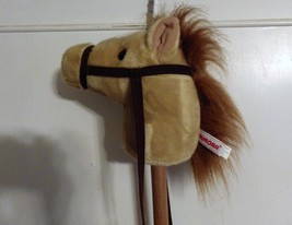 Aurora World Hobby Horse Toy Plush Neigh Gallop Hoof Sounds- Palomino - $27.72