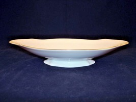 Lenox Fine China Footed Dish Gold Rimmed Made in USA - $55.00