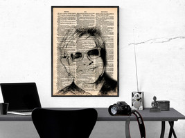 Music Art Print-Elton John Art Print-Music Prints-Vintage Art-Home Decor... - $11.82