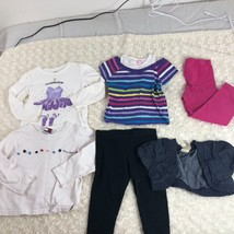 Girls 6 pc lot Sz 4t pants shirt jacket tee Mixed Lot Tommy Okie Dokie G... - $13.83