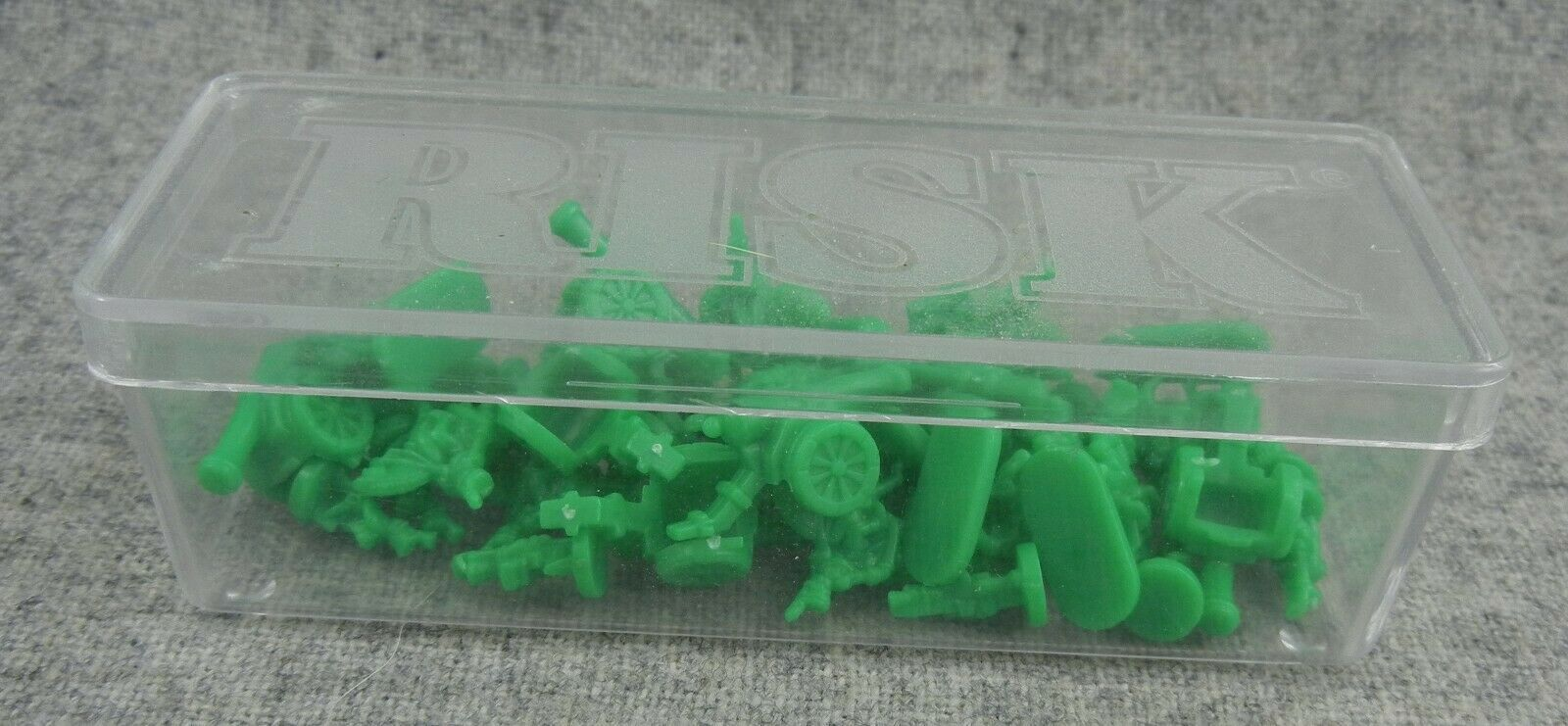Primary image for Risk 1993-99 Green Army with storage case Replacement game parts miniatures