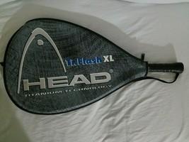 "Head Ti. Flash XL Racquetball Racket Orange Titanium Technology 3 5/8"" G... - $37.61"