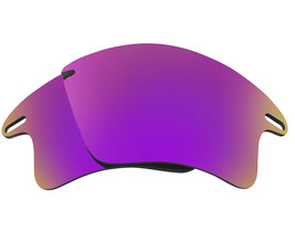 Polarized Replacement Lenses for-Oakley Fast Jacket XL Frame Anti-Scratch Purple - $8.80