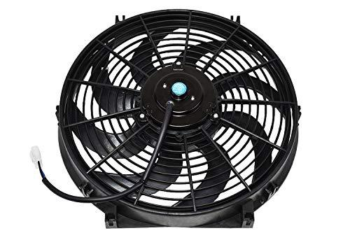 "A-Team Performance 110011 Universal Electrical Radiator Cooling Fan 14"" Heavy Du"