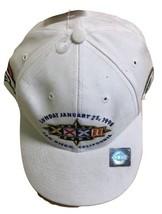 NFL Super Bowl 1998 Green Bay Packers Denver Broncos XXXII White Hat Sna... - $74.25