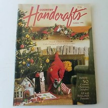 Country Handcrafts Magazine - 50 Country Christmas Delights Holiday 1990 - $8.24