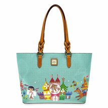Disney it's a Small World Tote by Dooney & Bourke Shopper Castle New - $388.07