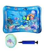 AUWOD Inflatable Tummy Time Water Mat Premium Infants Baby Play Mat with... - $14.10