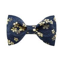 Creative Men Bow Tie Polyester Floral Necktie Pre-tied Bow Tie Formal/Casual Tie