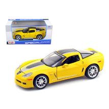 2009 Chevrolet Corvette C6 Z06 GT1 Yellow Commemorative Edition 1/24 Die... - $28.93