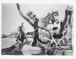Lone Ranger Clayton Moore Silver Tonto Rendering 8x10 Photo 10000006 - $9.99